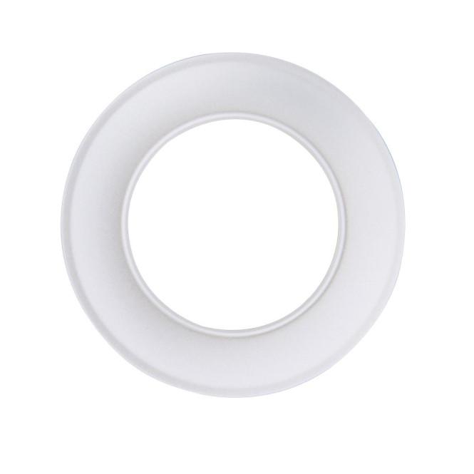 KaminoFlam® Wandrosette für Ofenrohre weiß 120 mm