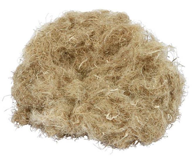 Kerbl Hanfwolle aus 100% Hanf 30 g