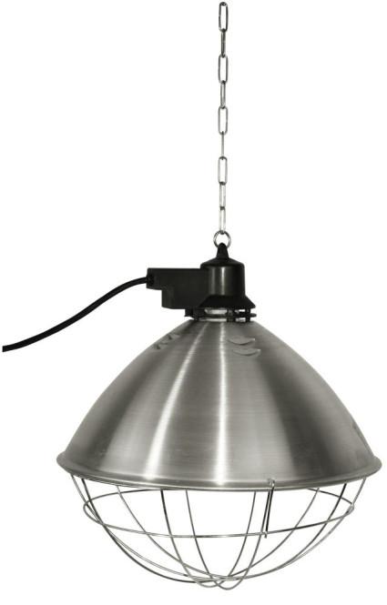 Kerbl Infrarot-Wärmestrahler mit 5,0 Meter Kabel und 35 cm Reflektor