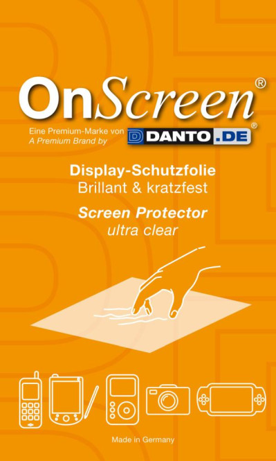 OnScreen Displayschutzfolie für Alac Bluetouch Typ Ultra Clear