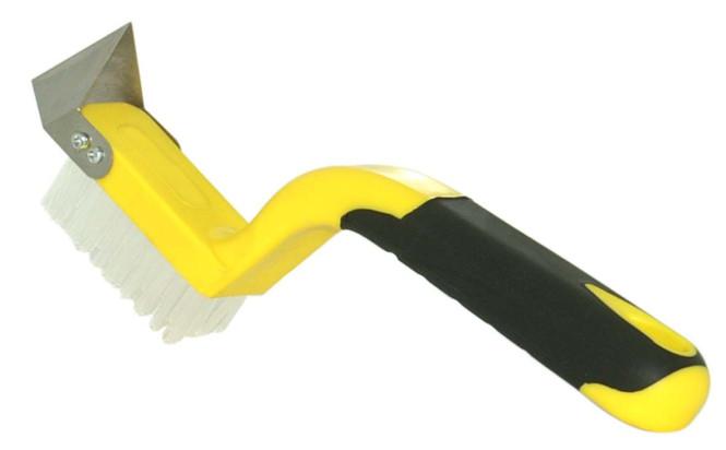 proX Fugenmesser inklusive Reinigungsbürste - Fliesenfugenmesser für Silikonfugen und Acrylfugen