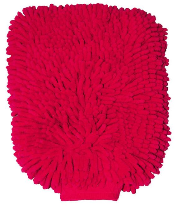 purclean Microfaser Handschuh - kombiniert Putzlappen und Staubwedel, pink pink