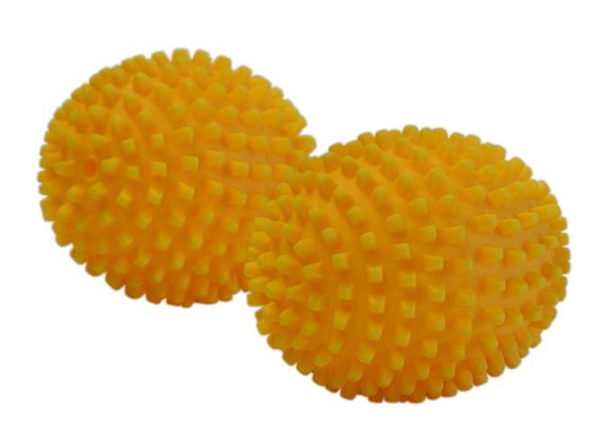purclean 2er Set Trocknerbälle, flauschige Wäsche und ökologisch Weichspüler sparen Anzahl: 1 Set (2 Stück)