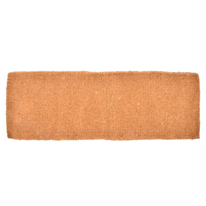 Rivanto® Kokosmatte extra dick, L 41,5 x B 118 cm, Stärke 4 cm Türmatte rechteckig aus Kokosfaser, Tür Vorleger, Fussabstreifer, Schuhmatte