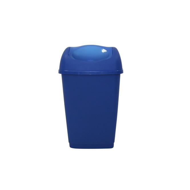 TESTRUT - Schwingdeckeleimer 25 Liter blau