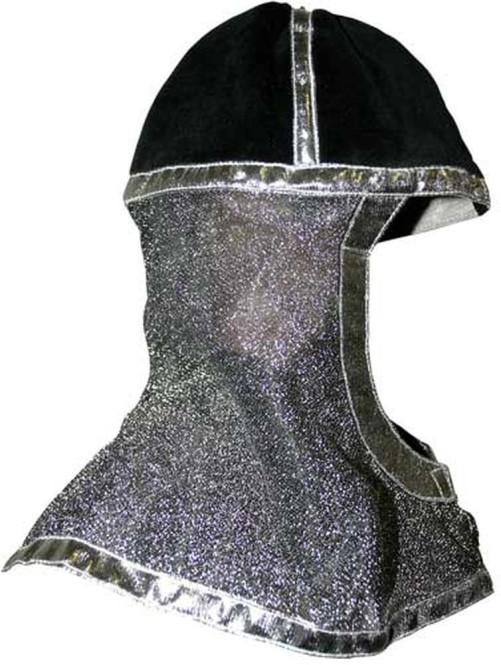 Trullala Ritterhelm, Ritterkostüm, Faschingskostüm, in silber silber