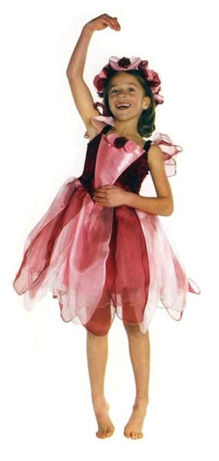 Trullala Waldfeenkleid, Elfenkostüm, Feenverkleidung, verschiedene Farben und Größen zur Auswahl