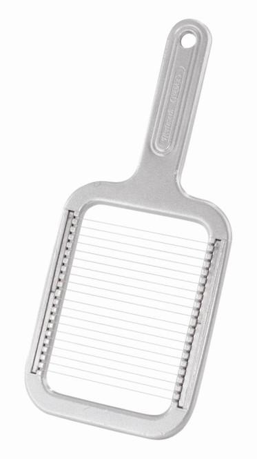 """WESTMARK Pellkartoffel-Schneider, Mozzarella-Schneider """"Rondex"""", Aluminium beschichtet, Schneiddrähte Edelstahl, 255 x 115 x 15 mm"""