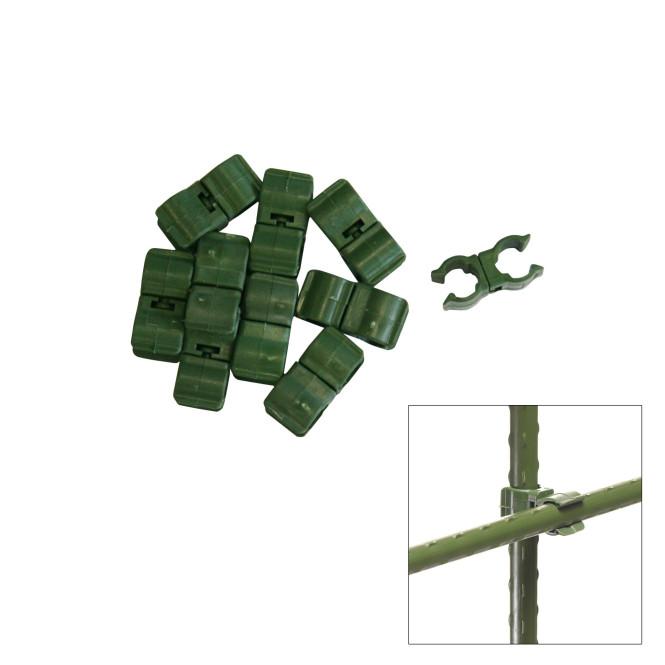 XCLOU GARDEN Multifunktionsclip, 10 Stück, 11 mm