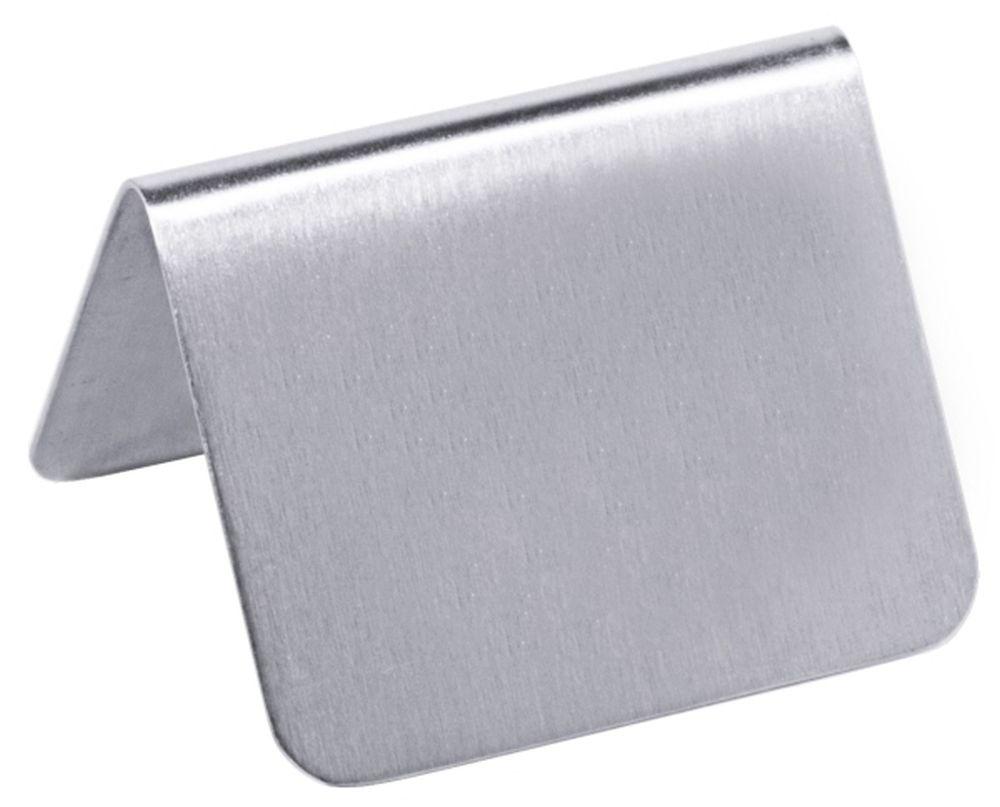 Contacto Tisch Schild Ohne Aufdruck 5 3 X 3 4 Cm Seidenmat Neutral 1 5 Mm