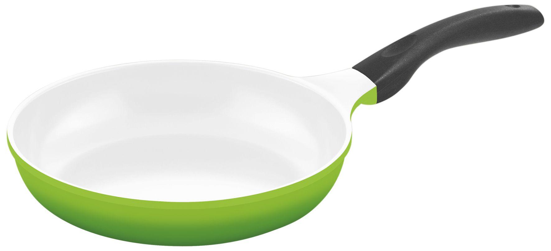 culinario pfanne mit keramikbeschichtung 24 cm in gr n f r induktionsherd geeignet m
