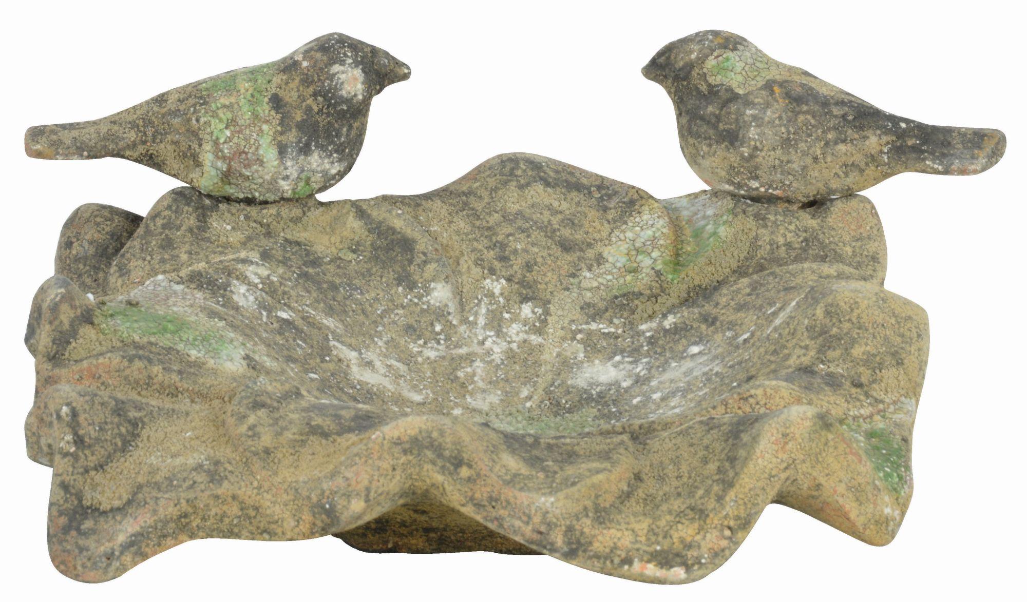 Esschert Gartenfigur Skulptur Vogel Gusseisenfigur 14 cm x 10 cm x 12 cm