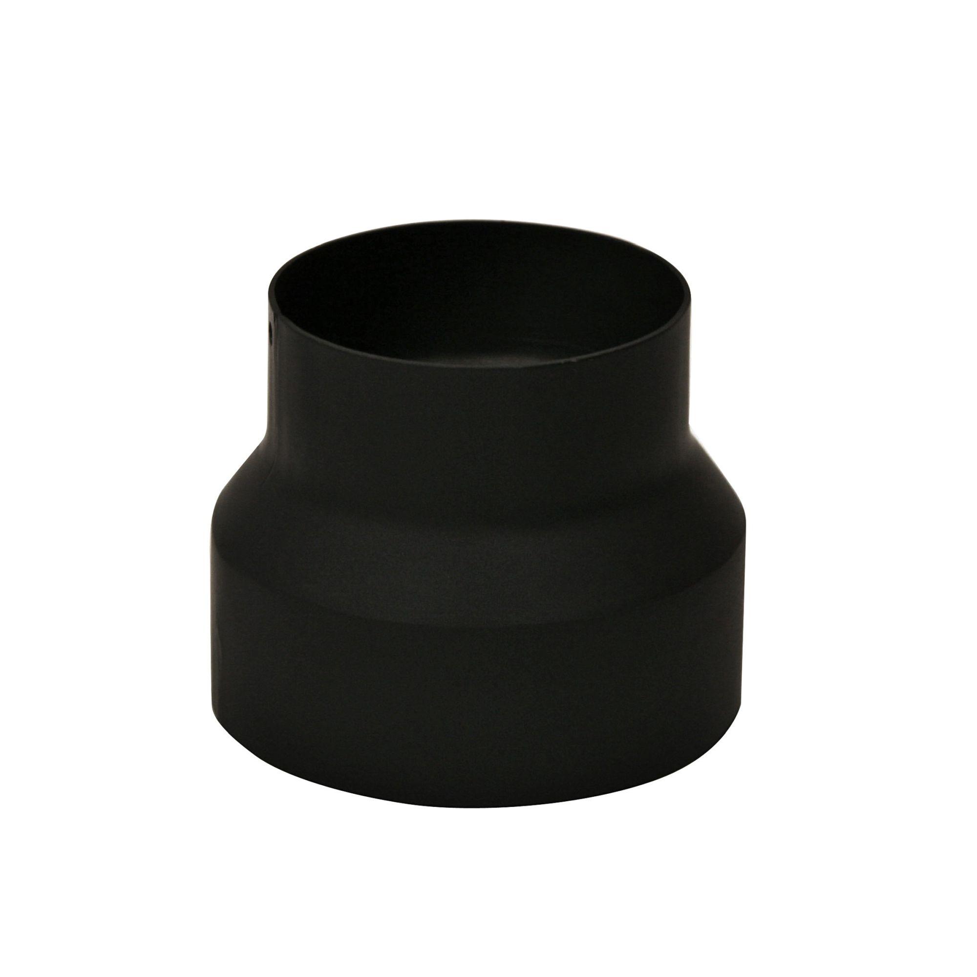 120 mm Reduzierung in Schwarz 130 mm