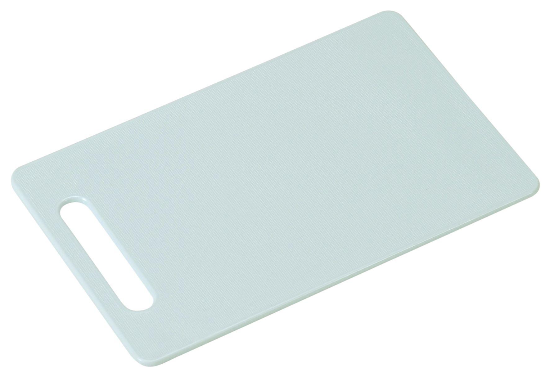 24 x 15 x 0.5 cm Kesper Brettchen aus PE-Kunststoff in grau